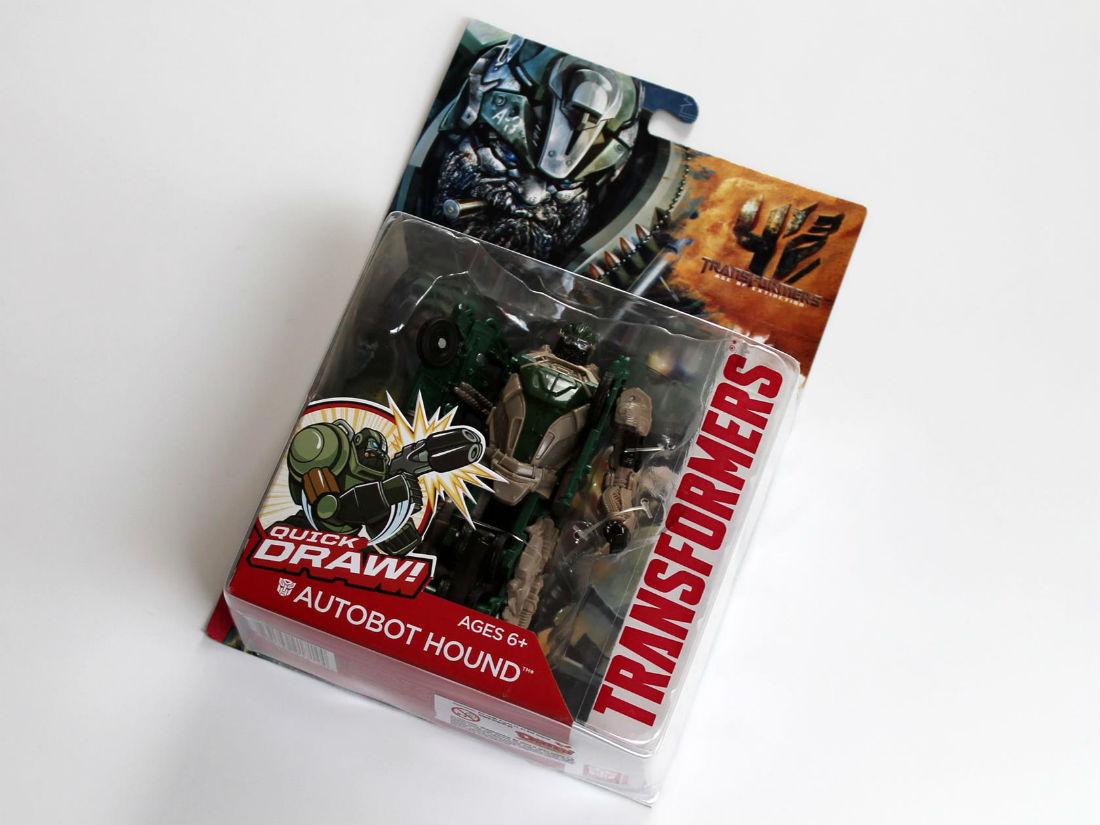 Autobot Hound od Hasbro - hračka pre fanúšikov Transformers
