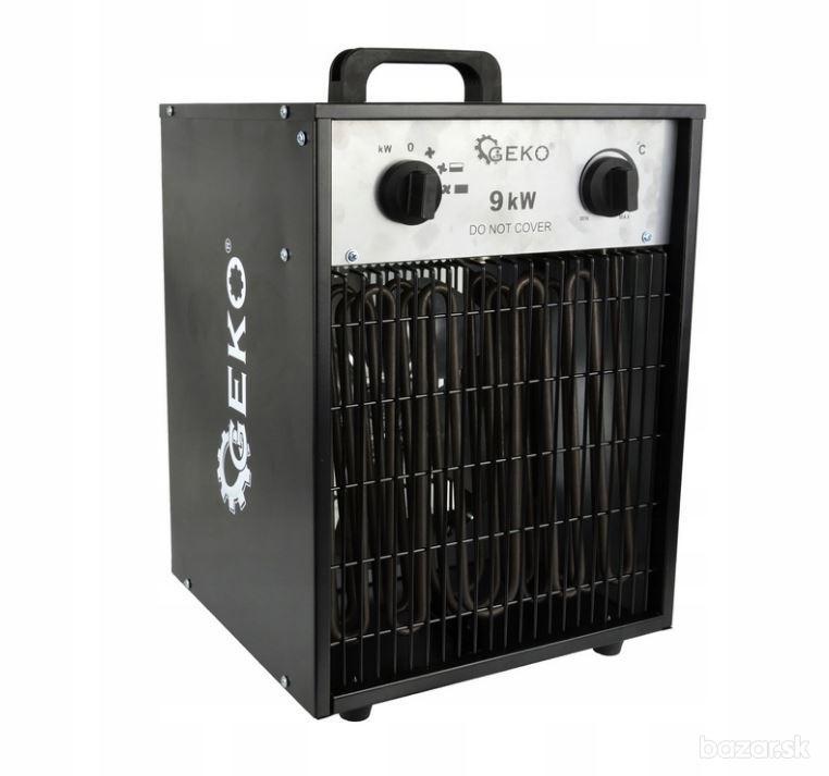 Elektrický ohrievač 9KW 400V ventilátor