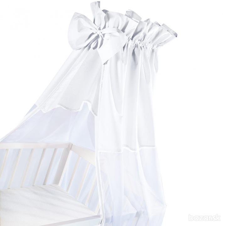 Baldachýn univerzálny biely 150x200cm