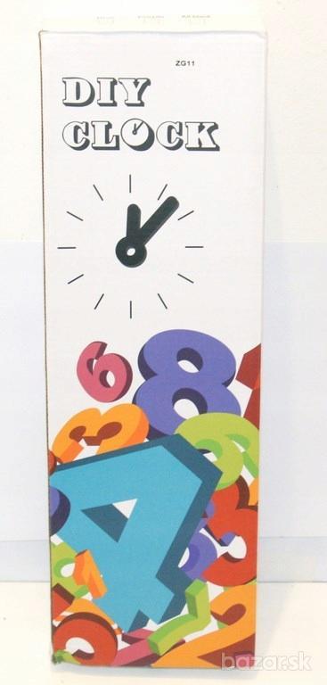 Nástenné hodiny - DIY CLOCK ZG 11