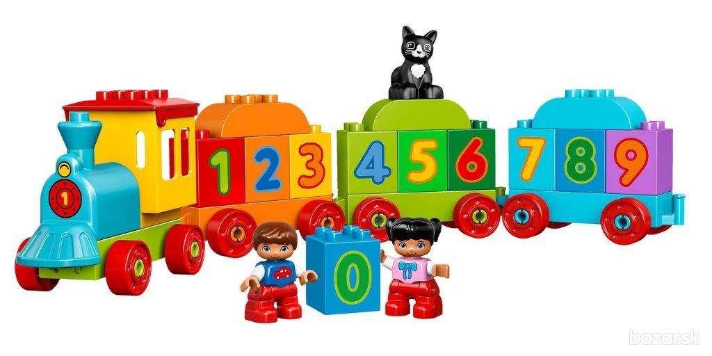 Lego Duplo 10847 Vlak s číslami