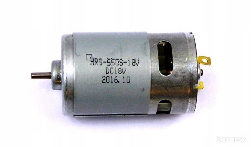 BLAUKRAFT do šrobovačky  18V motorček HRS-550S-18V