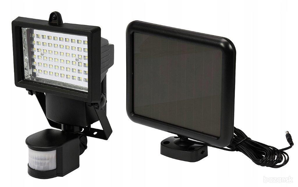 Solárny reflektor LED snímač pohybu 4W YT-81860